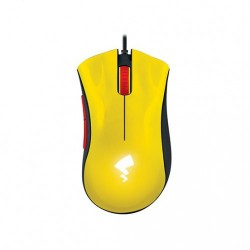 Razer DeathAdder Essential Mouse + Razer Goliathus Speed Pikachu Limited Edition Mouse Pad Combo