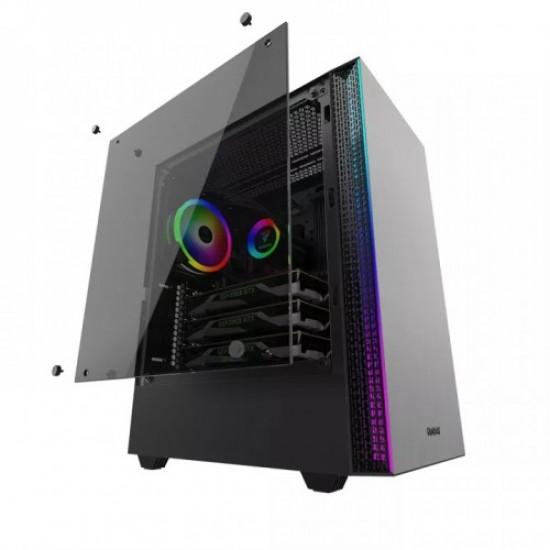 Gamdias Mars E1 Mid Tower RGB PC Gaming Case