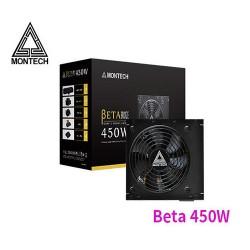 Montech Beta 450W 80+ Bronze Certified Power Supply