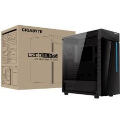 Gigabyte C200 Glass RGB LED Casing