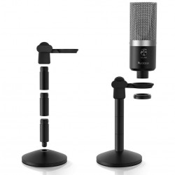 Metal Body USB Microphone- FiFINE K670 Best For YouTube Recording, Streaming, Voice Over