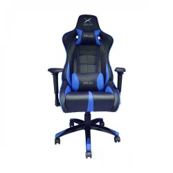 DELUX DC-R01 STEEL FRAME GAMING CHAIR (Blue)
