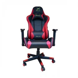 DELUX DC-R103 STEEL FRAME GAMING CHAIR (Red)
