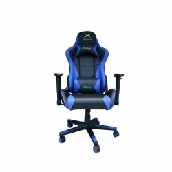 DELUX DC-R103 STEEL FRAME GAMING CHAIR (Blue)