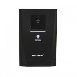 MAXGREEN 1250VA Offline UPS with LED Display (Metal Case)