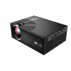Cheerlux C7 LCD 1500 Lumens Home Theater Mini Projector without WIFI