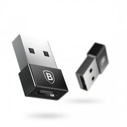 Baseus CATJQ-A01 Exquisite USB Male to Type-C Female Adapter Converter
