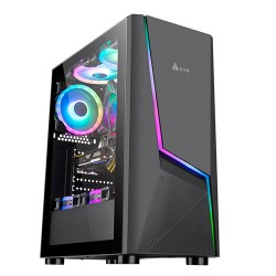 Golden Field 1092B Tempered Glass Mid Tower Gaming Case