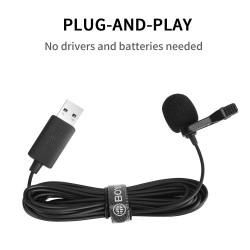 BOYA BY-LM40 USB lavalier microphone