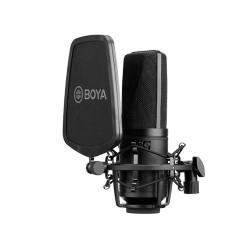 BOYA BY-M1000 Large-Diaphram Multi-Pattern Condenser Studio Microphone