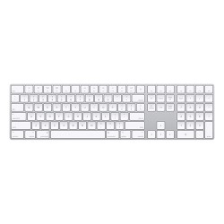 APPLE MAGIC KEYBOARD WITH NUMERIC KEYPAD (SILVER)