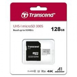 Transcend 128GB Micro SD Class 10 With Adapter