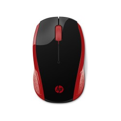 HP 200 WIRELESS MOUSE (RED)