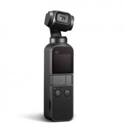 DJI Osmo Pocket Handheld 3 Axis Gimbal Stabilizer with Integrated Camera (Black)