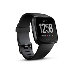 Fitbit versa black aluminum Smartwatch