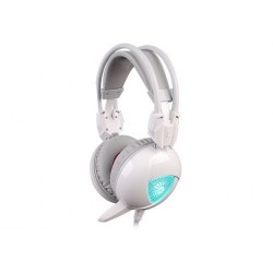 A4 TECH BLOODY G310 WHITE NEON GAMING HEADPHONE