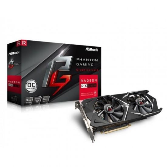 ASRock Phantom Gaming X Radeon RX580 8G OC Graphics Card