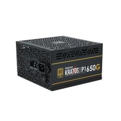 GAMDIAS KRATOS P1-650G 650W ADDRESSABLE RGB GOLD CERTIFIED POWER SUPPLY